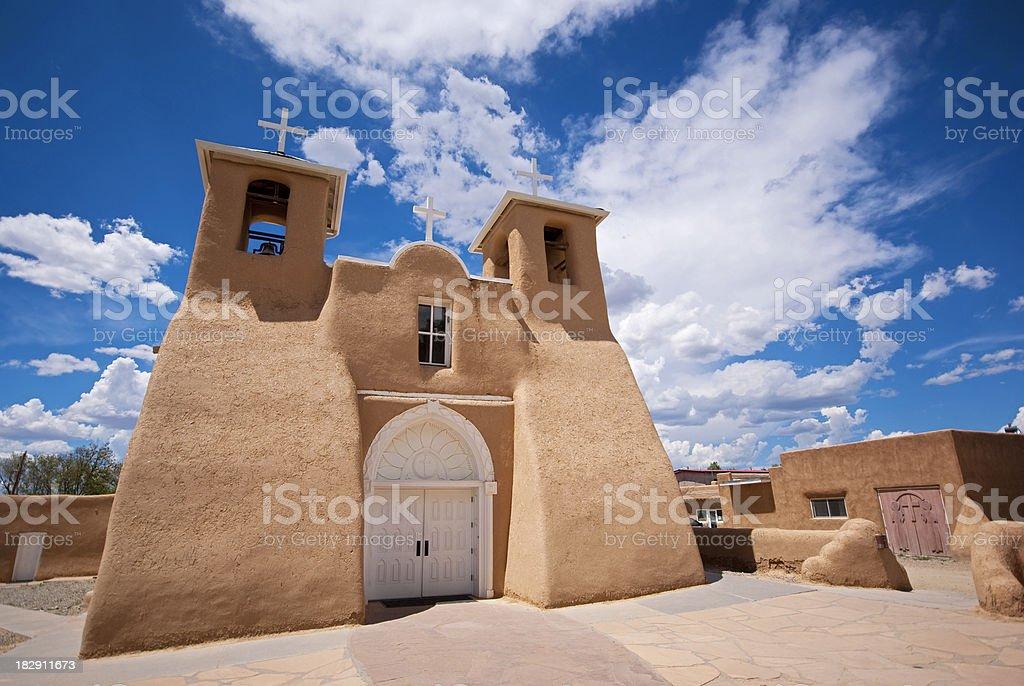 southwestern church mission stock photo