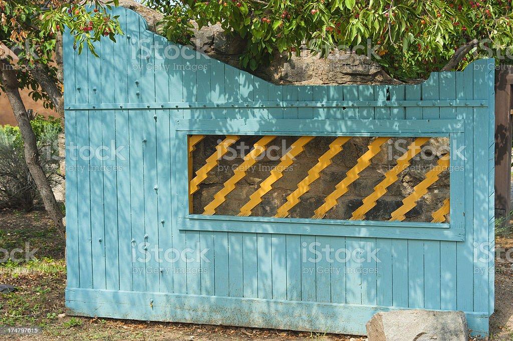 Southwestern Gate stock photo