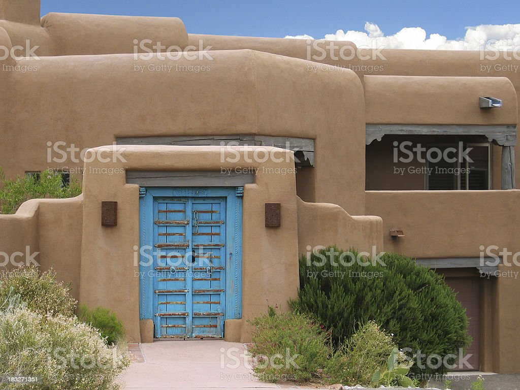 Southwestern Home royalty-free stock photo