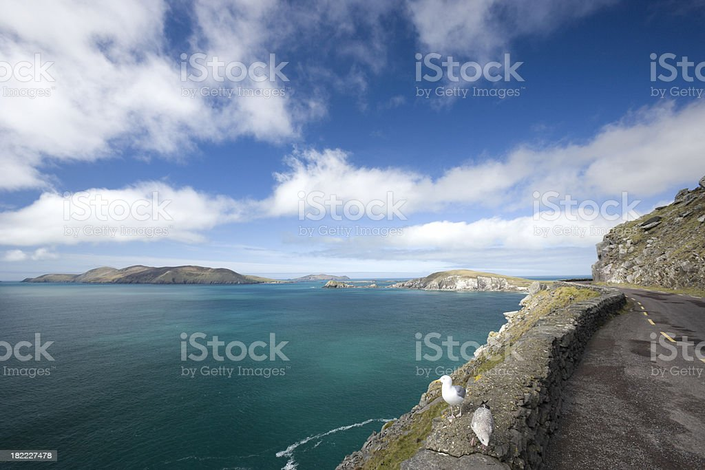 Southwestern Ireland scenic drive. royalty-free stock photo