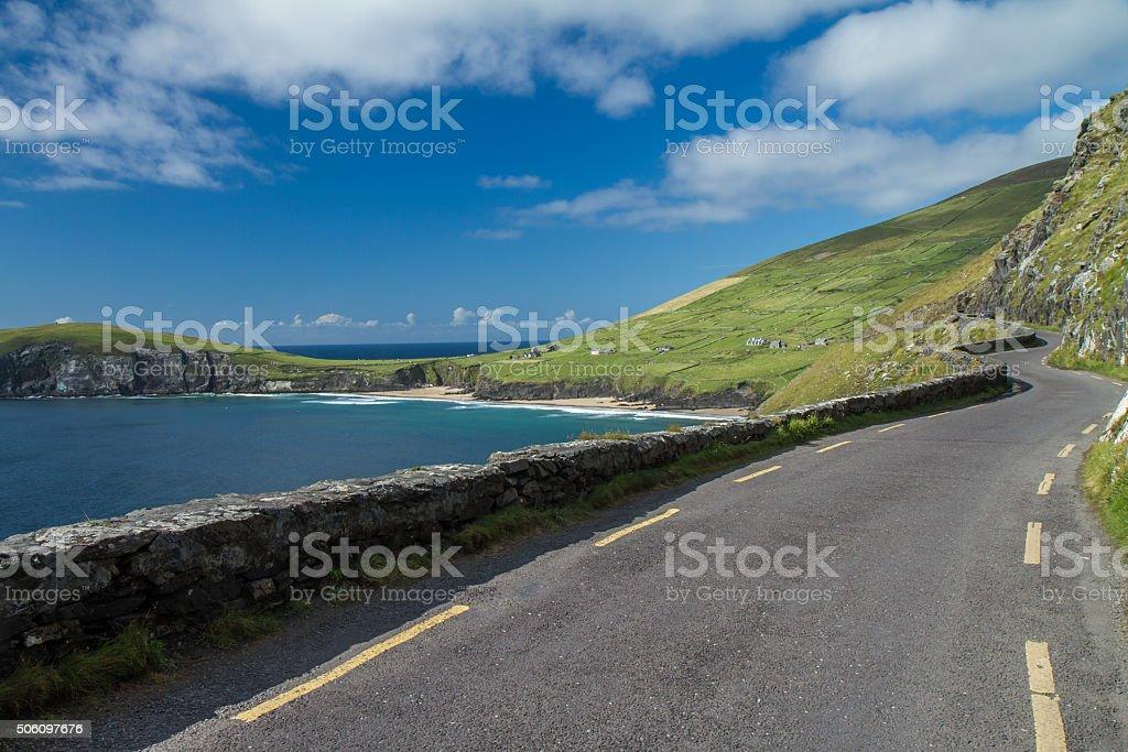 Southwestern Ireland scenic drive stock photo