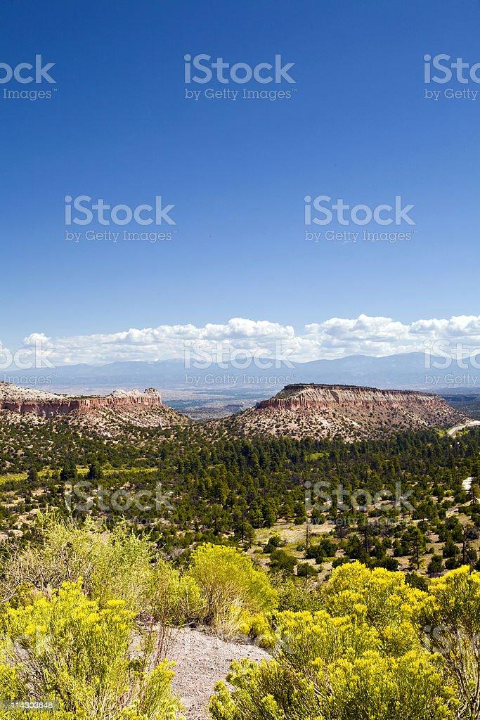 Southwestern Landscape royalty-free stock photo