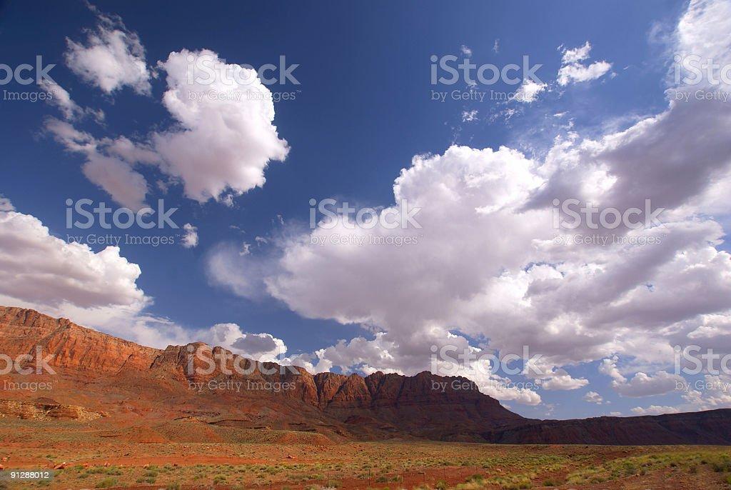southwestern landscape stock photo