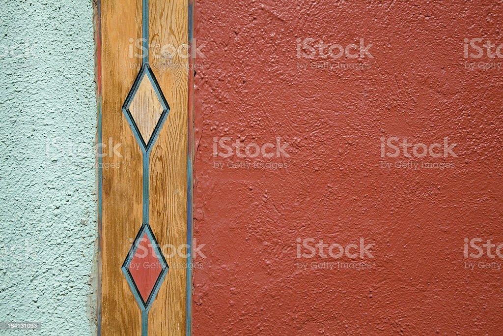 Southwestern Style Wall royalty-free stock photo