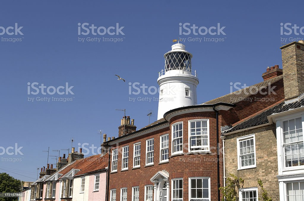 Southwold Lighthouse royalty-free stock photo