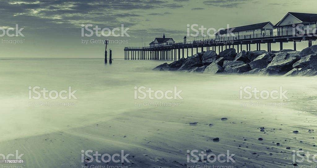 Southwold Pier royalty-free stock photo