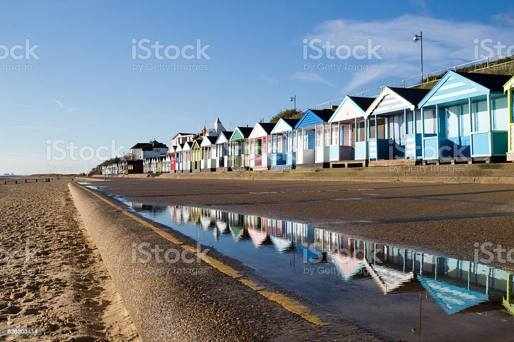 Southwold Seafront, Suffolk, England stock photo