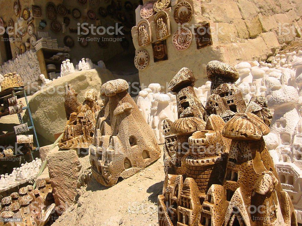 souvenir fairy chimneys Cappadocia royalty-free stock photo