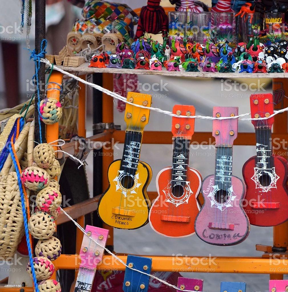 souvenir from mexico stock photo