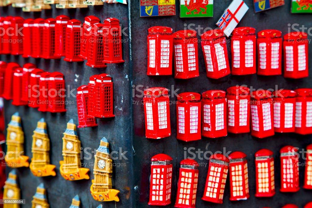 souvenir    in   classic british icon stock photo