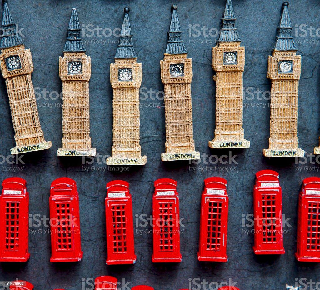 souvenir    in england london obsolete  box classic british icon stock photo