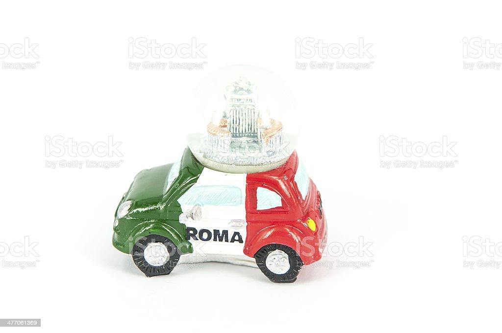 souvenir rome stock photo
