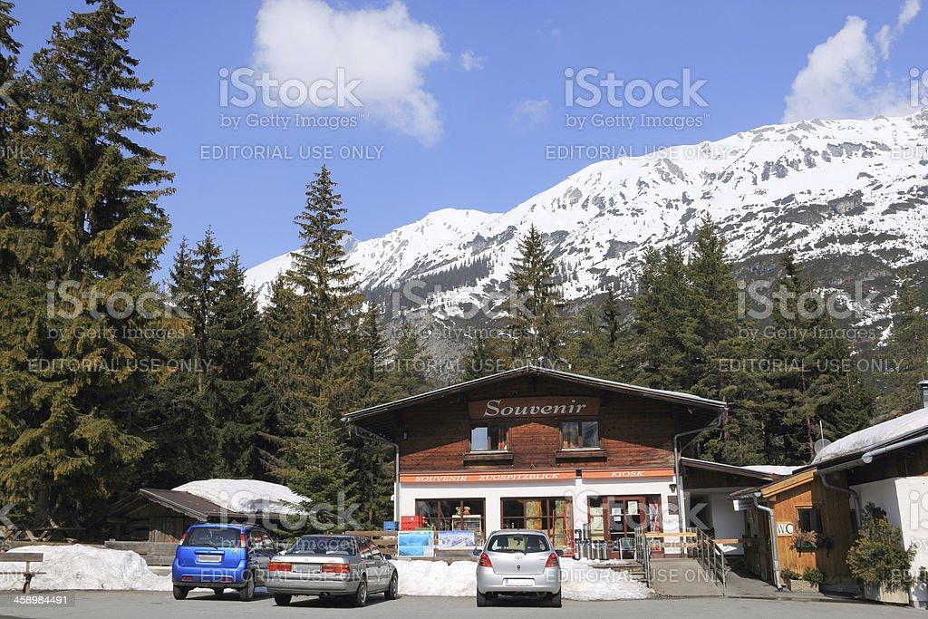 Souvenirshop, Biberwier/Austria stock photo