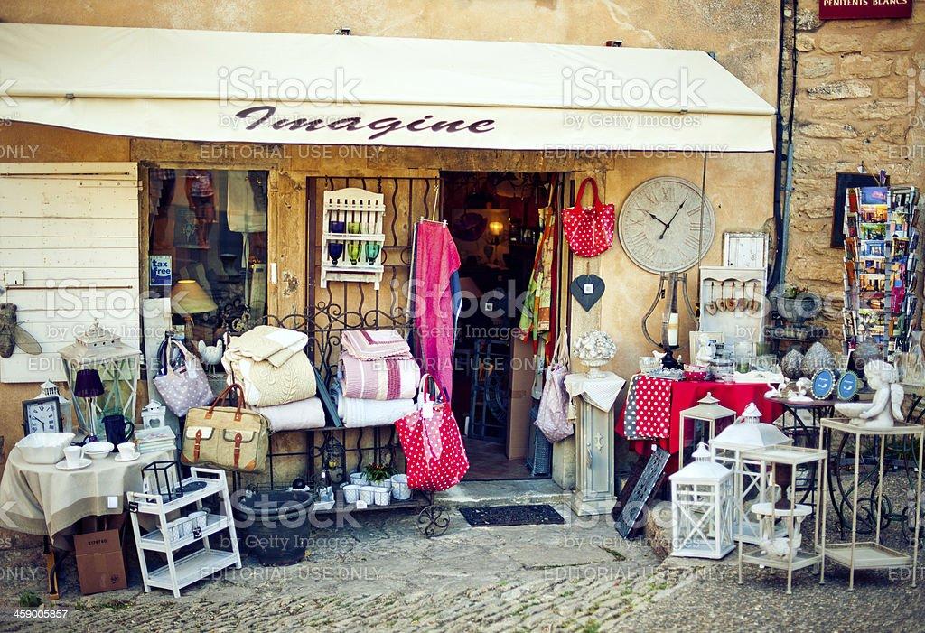 Souvenir shop royalty-free stock photo