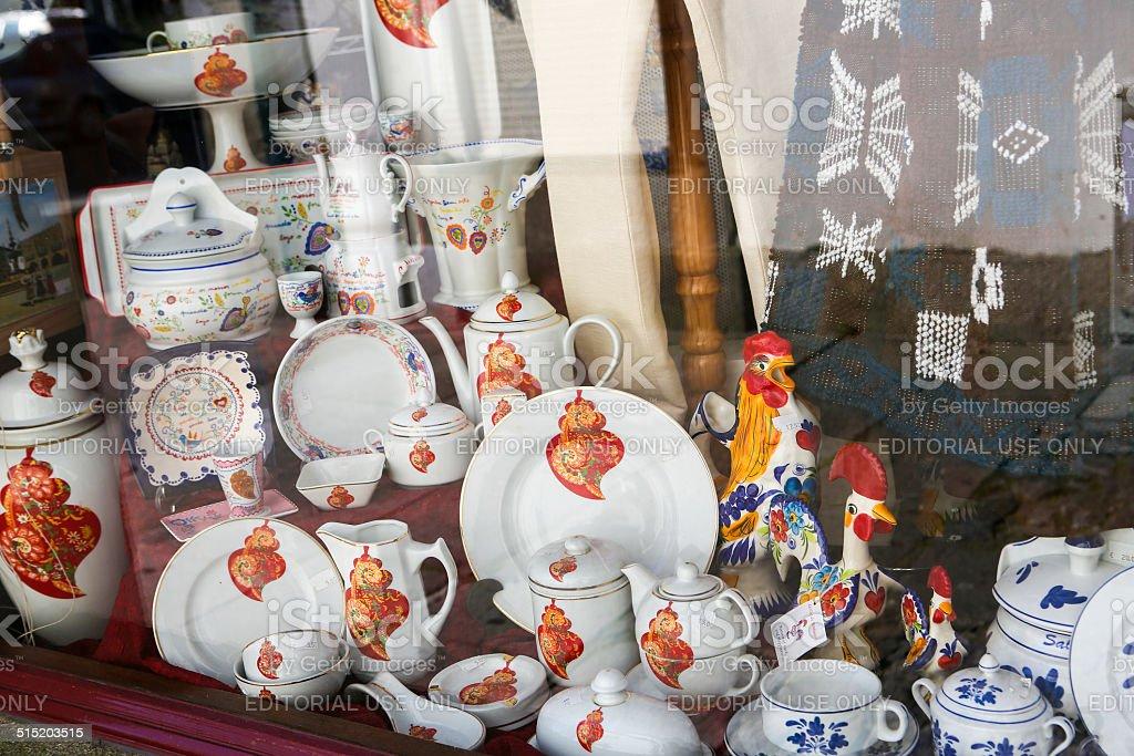 Souvenir shop stock photo