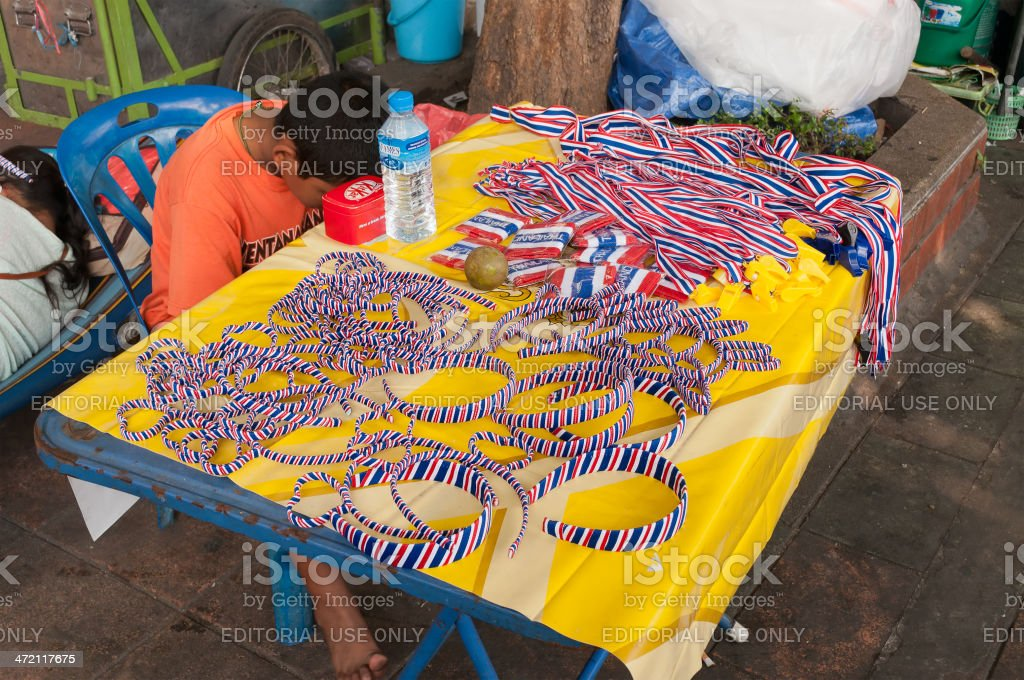 Souvenirs for Thailand's Protestants stock photo