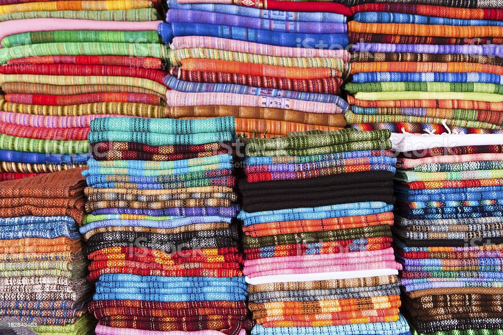 Souvenirs from Peru royalty-free stock photo