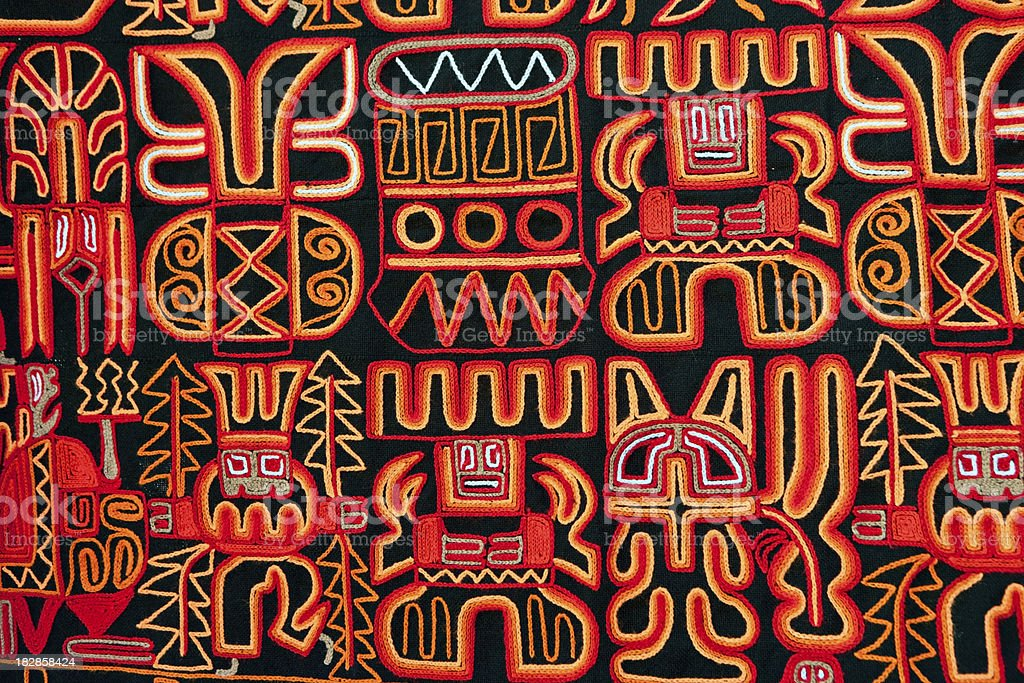 Souvenirs from Peru stock photo