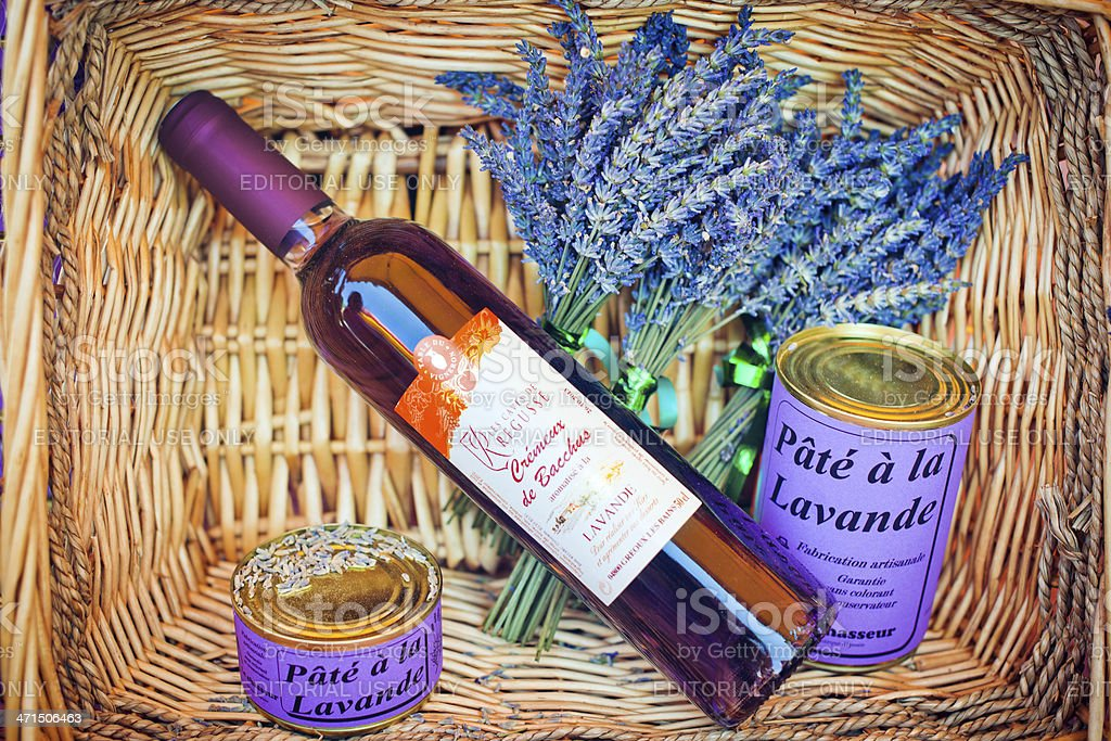 Souvenirs of lavender royalty-free stock photo
