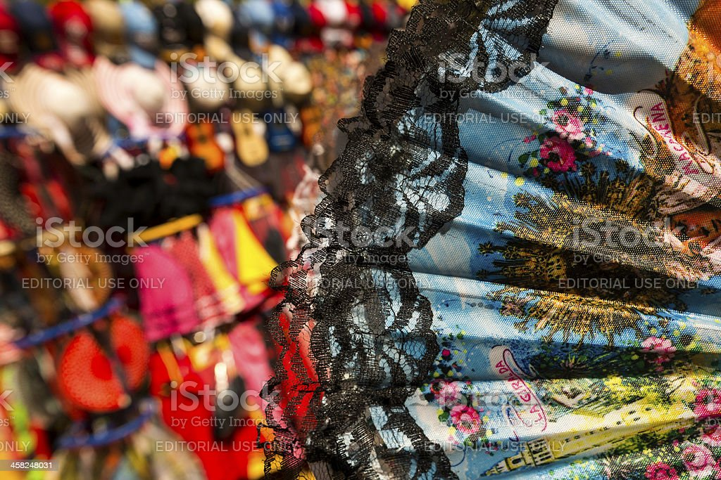 Souvenirs of Seville royalty-free stock photo