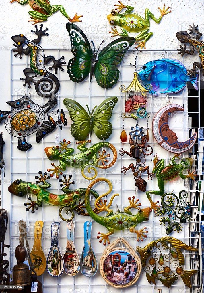 Souvenirs stock photo