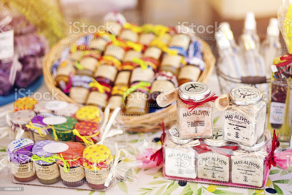 Souvenirs shop in Provenve royalty-free stock photo