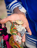 souvenirs sold by local people close to Axum, Ethiopia.