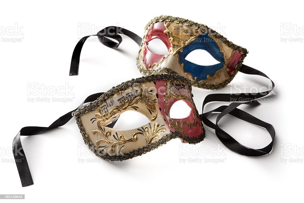Souvenirs: Venetian Masks stock photo