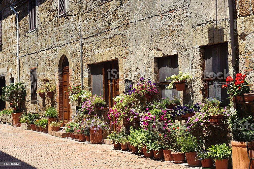 Sovana (Tuscany) royalty-free stock photo