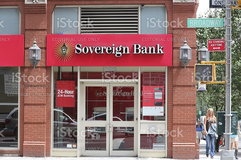 Sovereign Bank stock photo