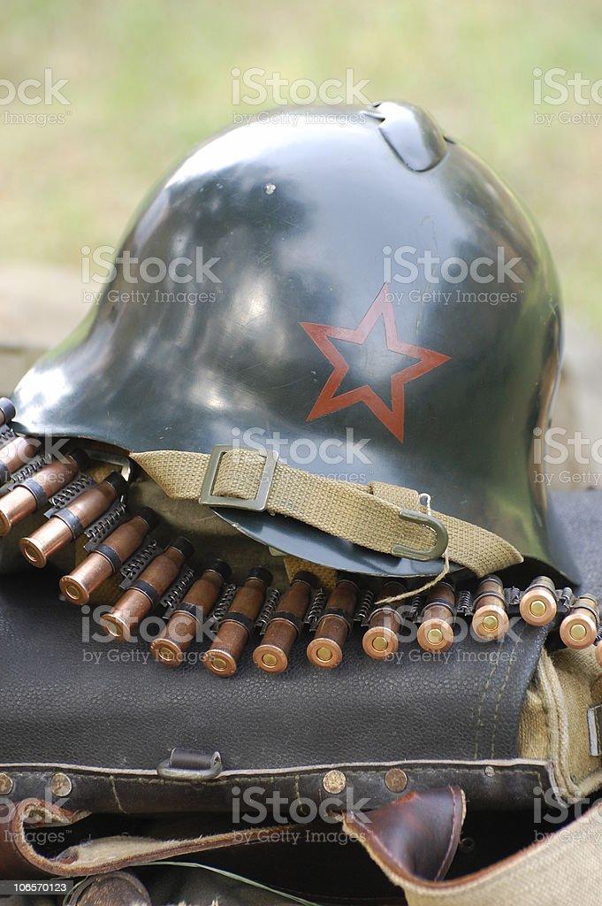 Soviet munition royalty-free stock photo