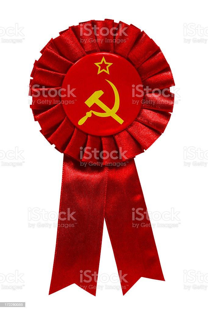 Soviet ribbon royalty-free stock photo