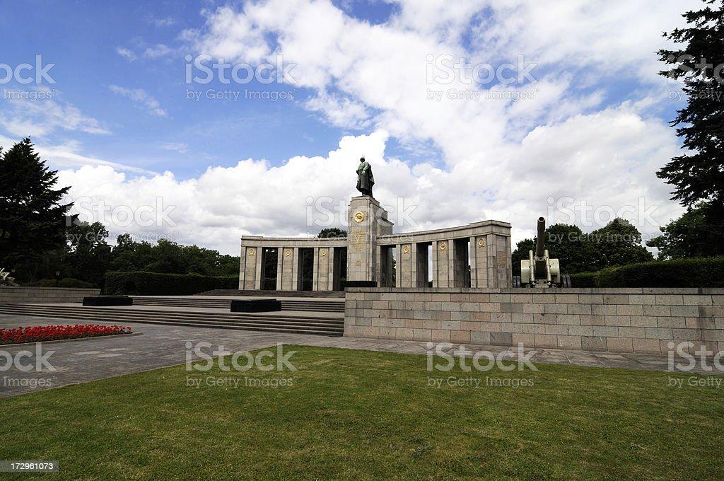 soviet war memorial, berlin... royalty-free stock photo
