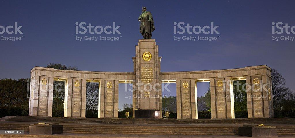 Soviet War Memorial in Berlin royalty-free stock photo