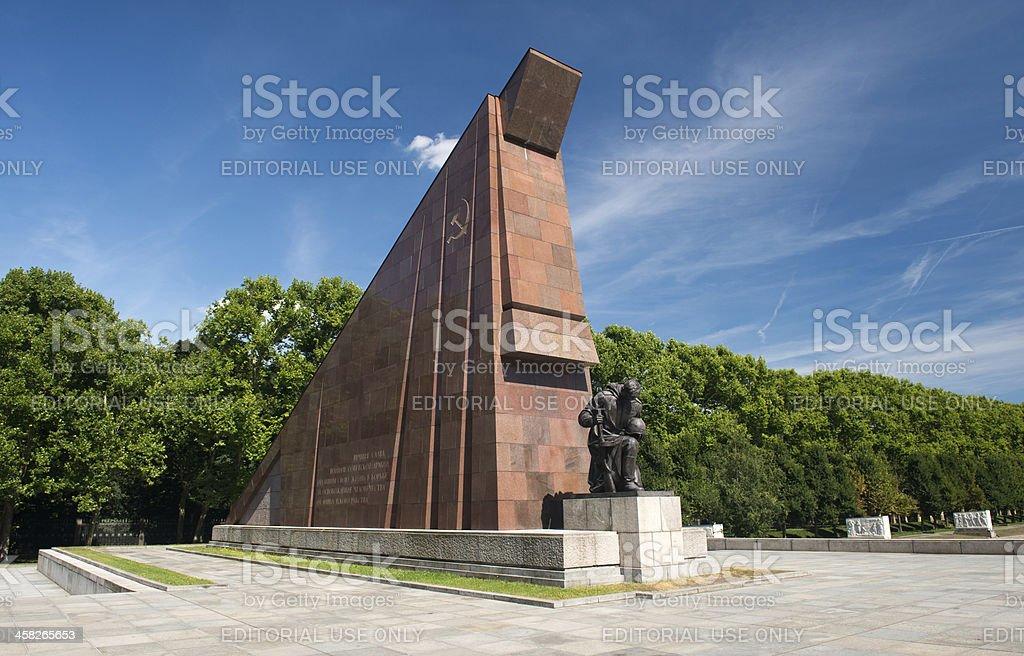 Soviet War Memorial in Treptower Park, Berlin, Germany royalty-free stock photo