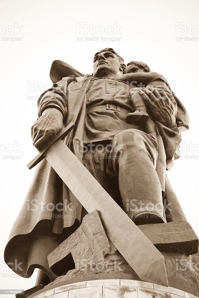 Soviet War Memorial royalty-free stock photo