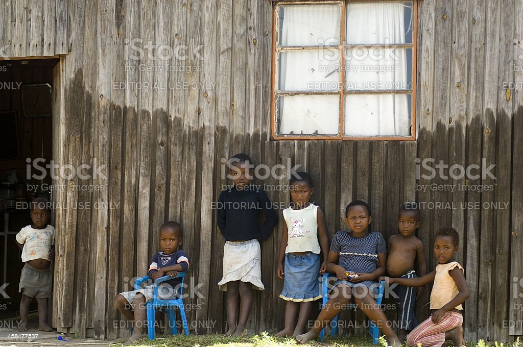 Soweto children stock photo