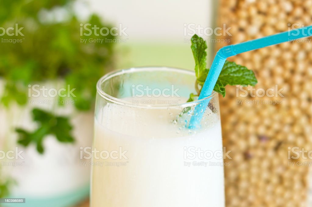 Soy Milk Concept royalty-free stock photo