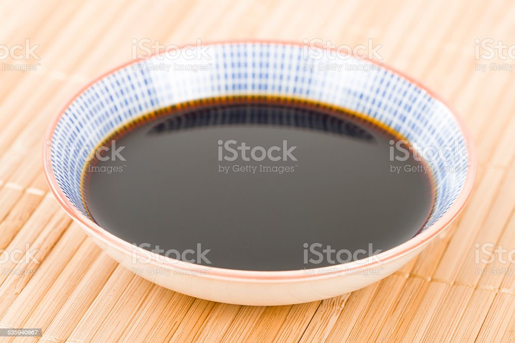 Soy Sauce stock photo