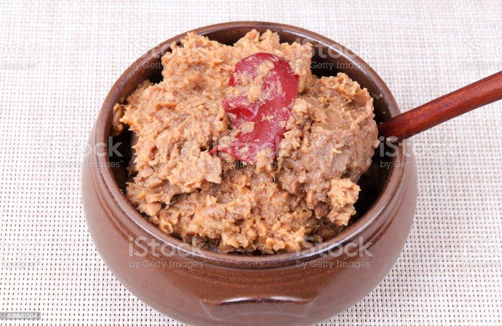 Soybean Paste (Doenjang) stock photo