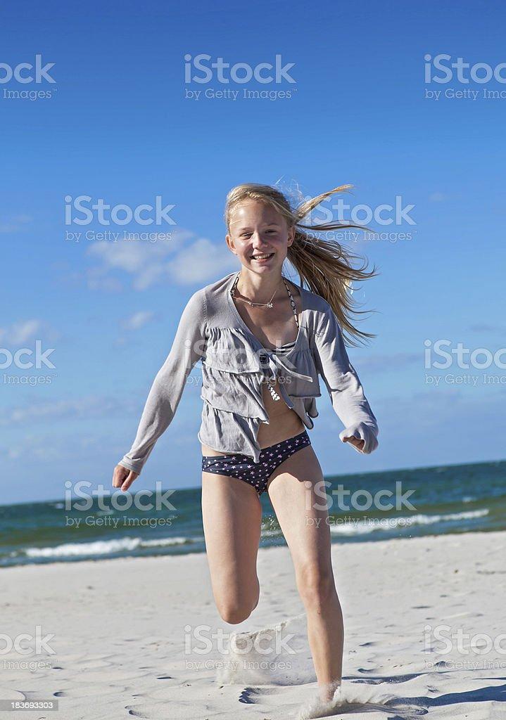 Spaß am Strand royalty-free stock photo