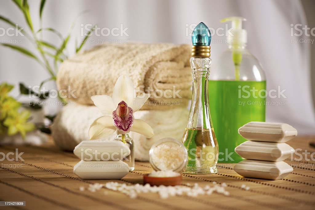 Spa And Aroma Therapy royalty-free stock photo