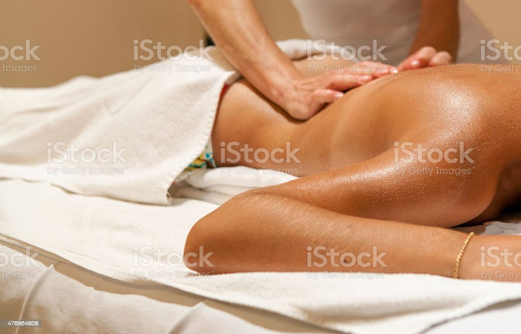 spa and massages stock photo