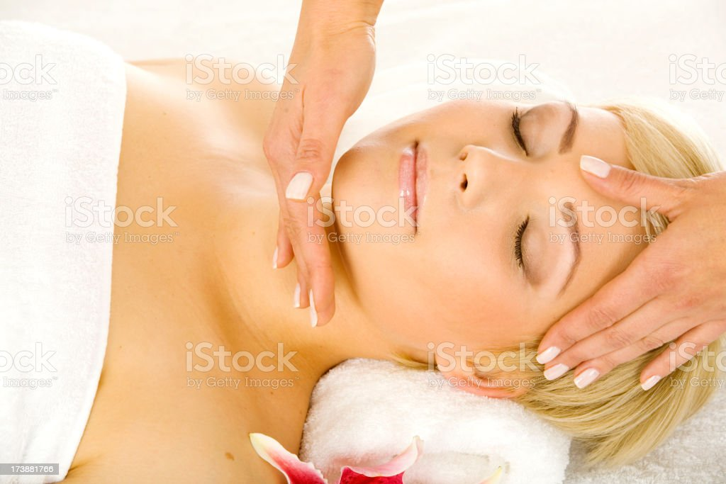 Spa  and wellbeing royalty-free stock photo
