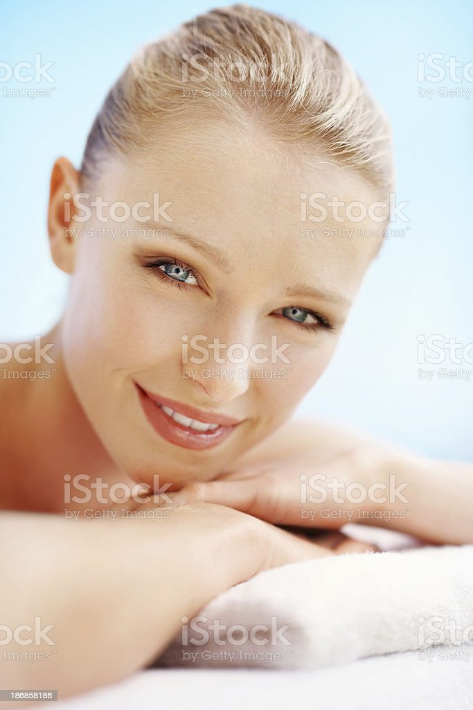 Spa and wellness royalty-free stock photo