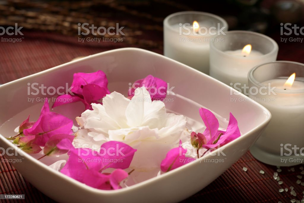 spa atmosphere royalty-free stock photo