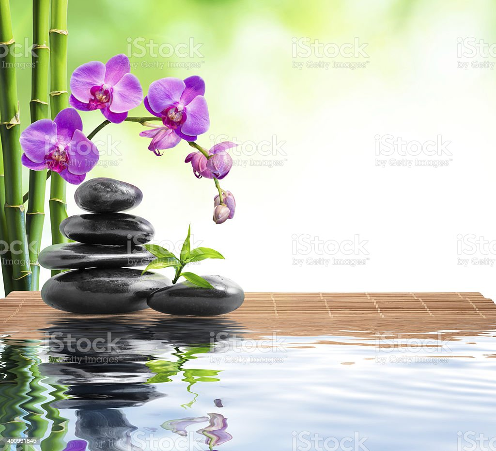 spa background - freshness stock photo