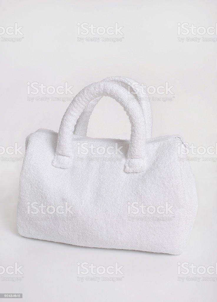 Spa bag stock photo