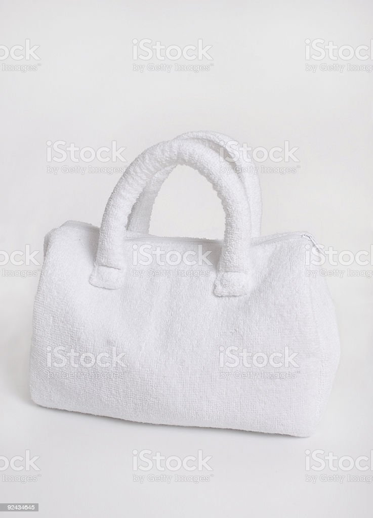 Spa bag stock photo