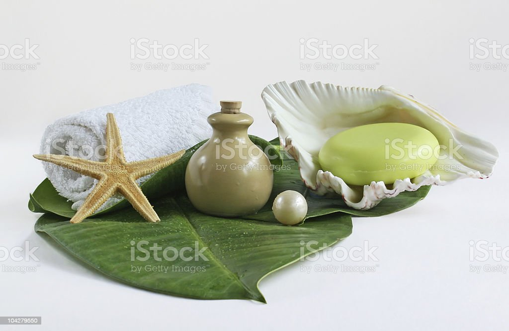 spa & bath royalty-free stock photo
